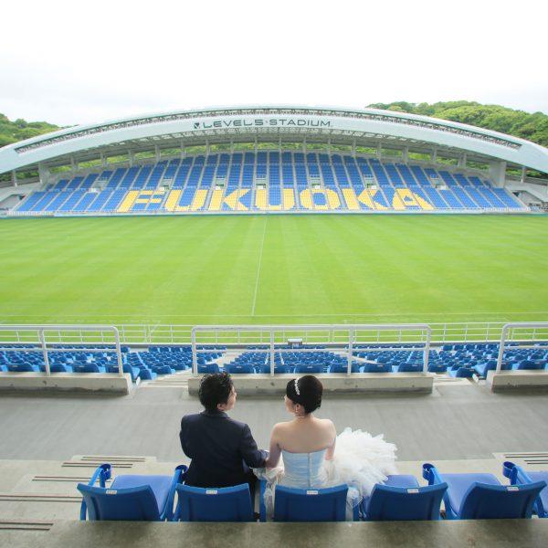 福岡,和装,洋装,前撮り,結婚式当日,,レベル5スタジアム