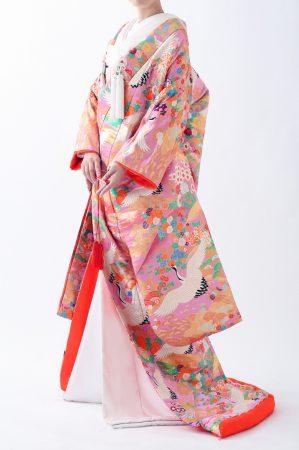福岡色打掛けF-023