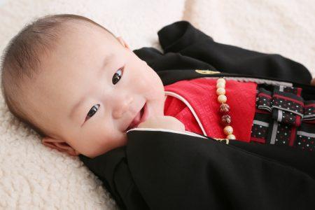 ベビーフォト(あかちゃん写真撮影)-1歳 お宮参り ハーフバースデー 誕生日 記念 スタジオフィール