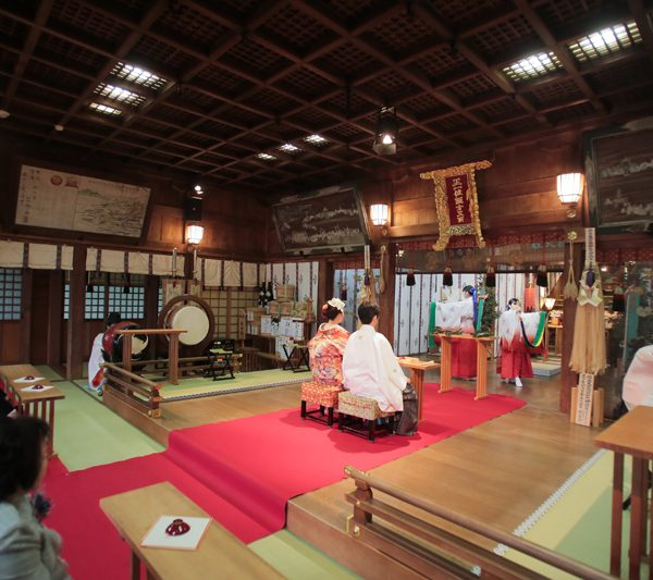 長崎 神社挙式 諏訪神社 白無垢 色打掛 スタジオフィール