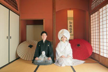 鹿児島 玉里邸 日本庭園 和装 色打掛 白無垢 スタジオフィール