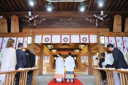 大分 大分護国神社 和婚 神社挙式 スタジオフィール