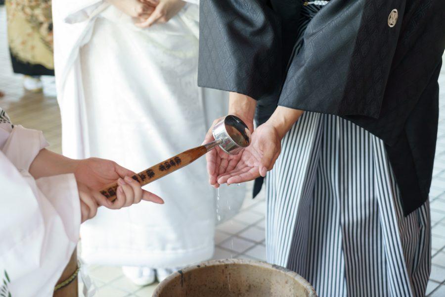 長崎県 佐世保 宮地獄神社 神社挙式 和婚 白無垢 和装
