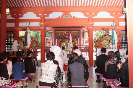 藤崎八旛宮 熊本 神社挙式 スタジオフィール