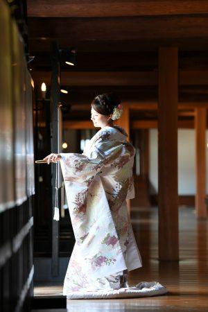 広島城和装前撮り