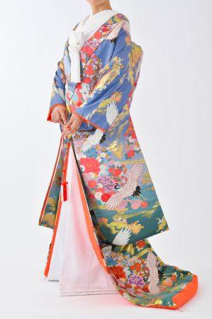 福岡色打掛けF-039a