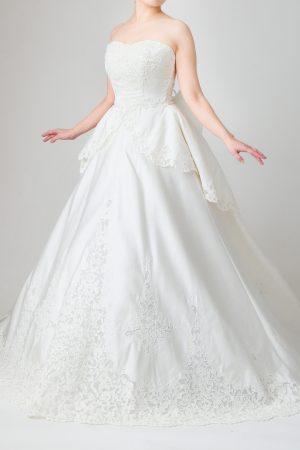 福岡店ウェディングドレス FW-030a