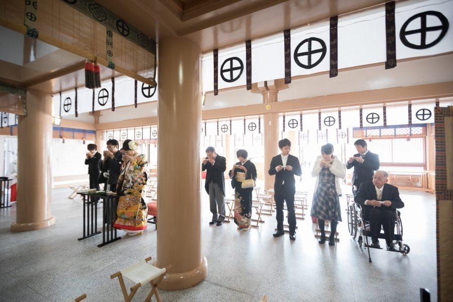 鹿児島 照国神社 神社挙式 和婚 スタジオフィール