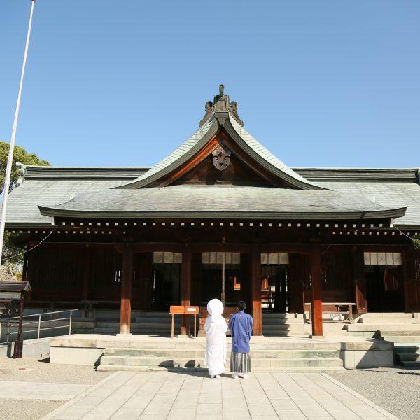 熊本 八代宮 神社挙式 和婚 スタジオフィール
