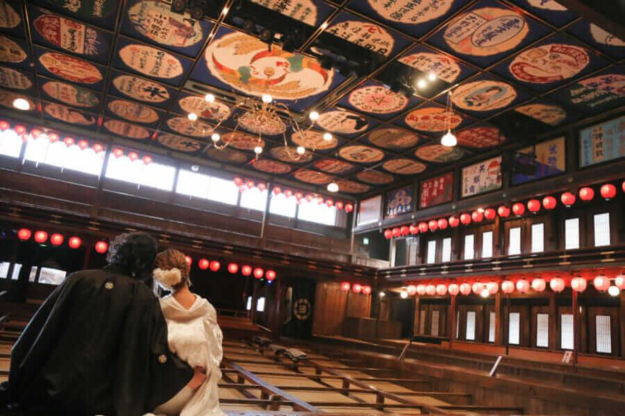 熊本 山鹿 八千代座 婚礼前撮り スタジオフィール