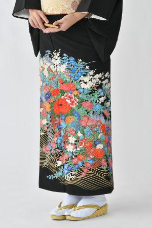 鹿児島店黒留袖KAKT-103