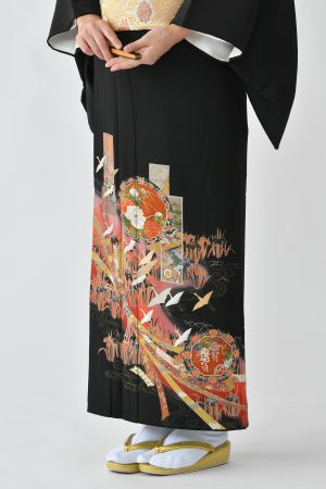 鹿児島店黒留袖KAKT-201