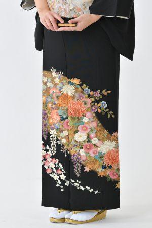 鹿児島店黒留袖KAKT-202