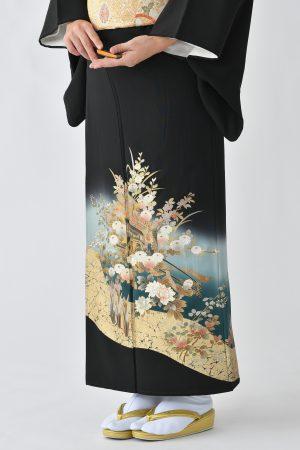 鹿児島店黒留袖KAKT-301