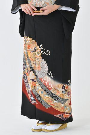 鹿児島店黒留袖KAKT-303