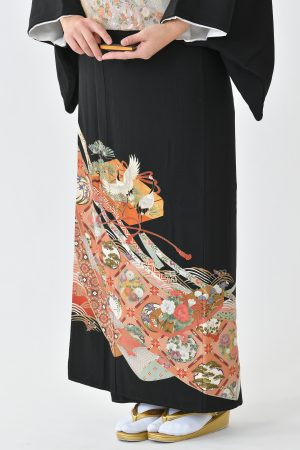 鹿児島店黒留袖KAKT-305