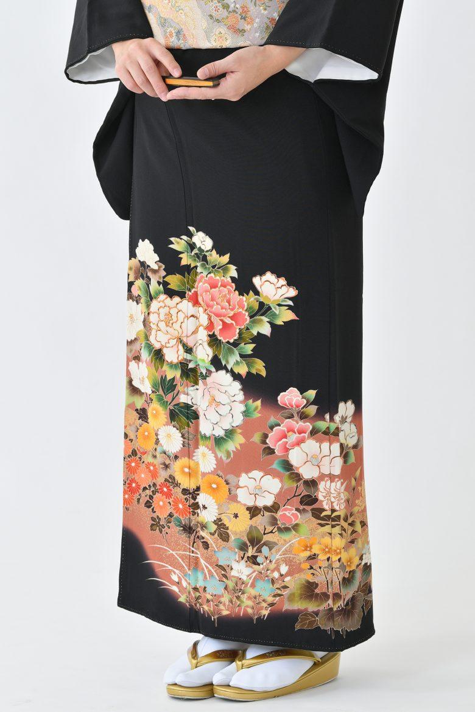 鹿児島店黒留袖KAKT-307