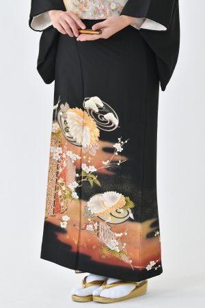 鹿児島店黒留袖KAKT-403