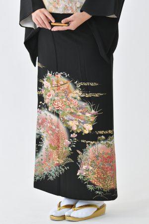 鹿児島店黒留袖KAKT-410