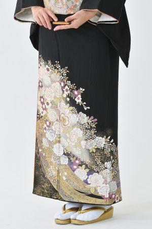 鹿児島店黒留袖KAKT-417