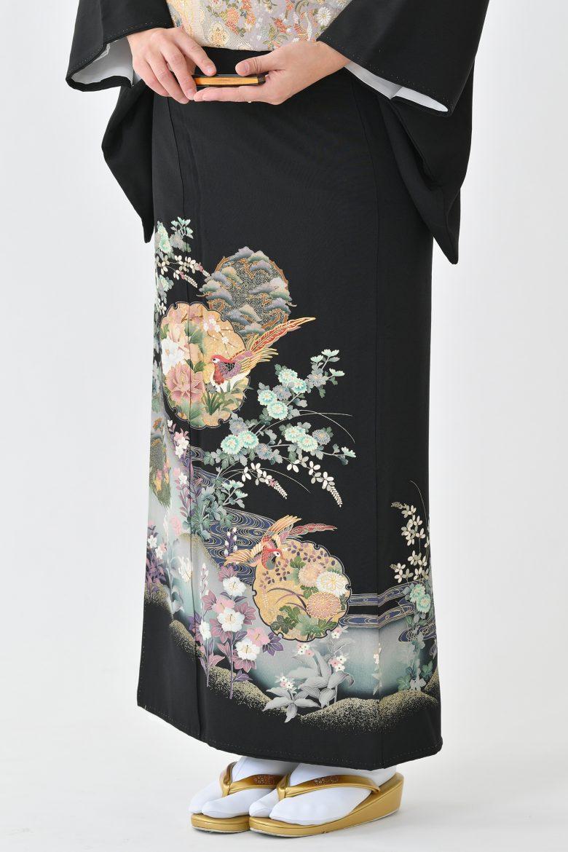 鹿児島店黒留袖KAKT-501