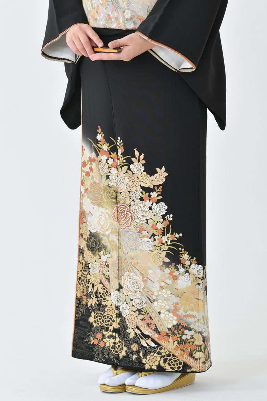 鹿児島店黒留袖KAKT-502