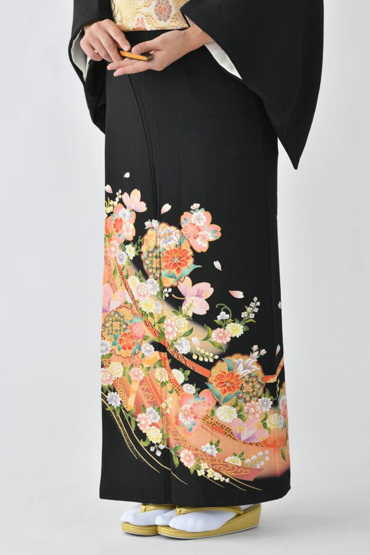 福岡黒留袖KT-3531