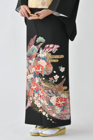 福岡黒留袖KT-4063