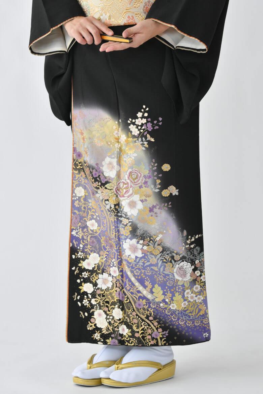 福岡黒留袖KT-4065