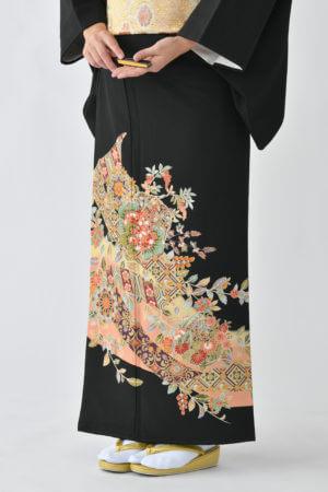 福岡黒留袖KT-5053