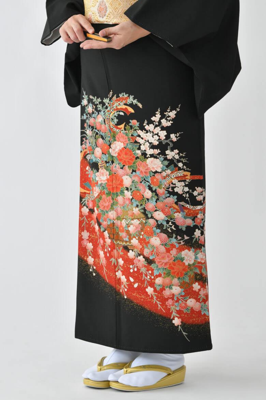 福岡黒留袖KT-5054