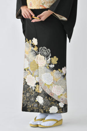 福岡黒留袖KT-4060