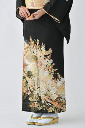 福岡黒留袖KT-5068