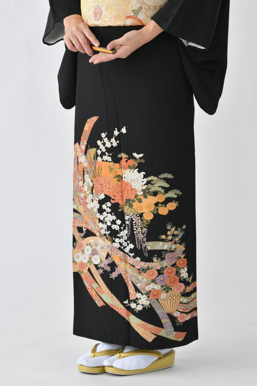 福岡黒留袖KT-3532