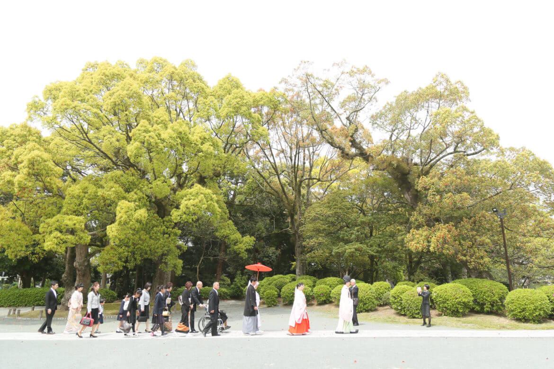 宗像大社 神社挙式 スタジオフィール 和婚 白無垢