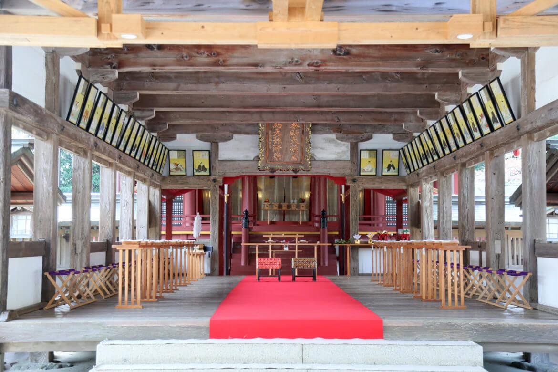 宗像大社 神社挙式