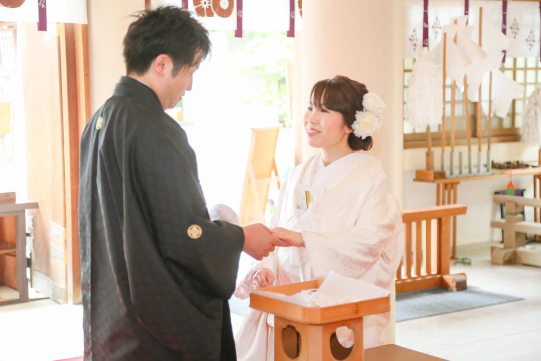 熊本 加藤神社 スタジオフィール 和婚 神社挙式 家族婚