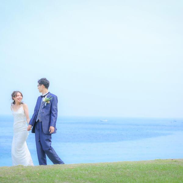 福岡,和装,洋装,前撮り,結婚式当日,,志賀島