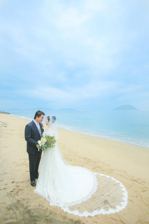 志賀島 海 ロングベール
