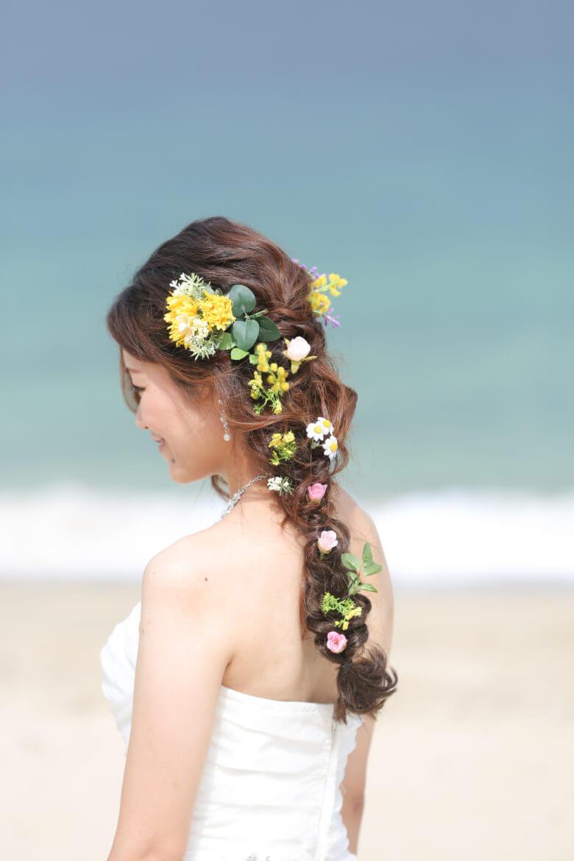 海に似合うヘアスタイル
