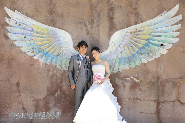 糸島といえばここ!パームビーチの天使の羽