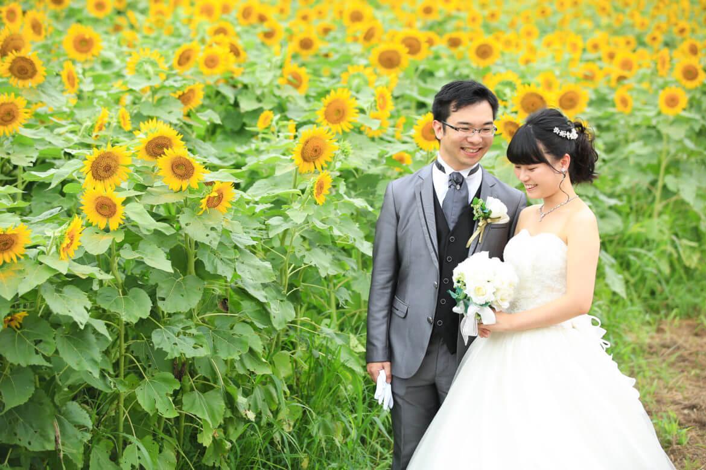 長崎鼻 ドレス 向日葵