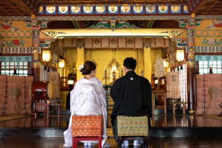神社挙式 山口 祐徳稲荷神社