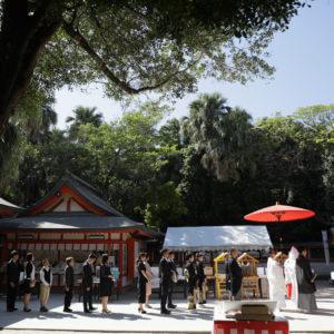 神社挙式 宮崎 青島神社 和装