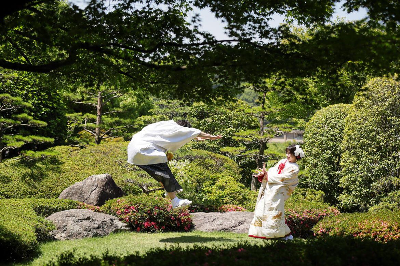 前撮り 福岡 松風園 和装