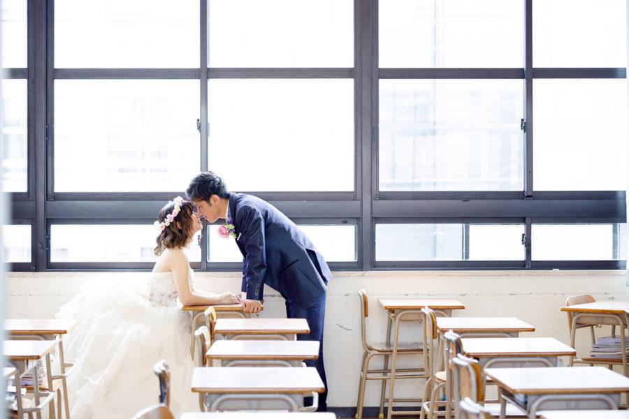 前撮り 福岡 学校 ドレス