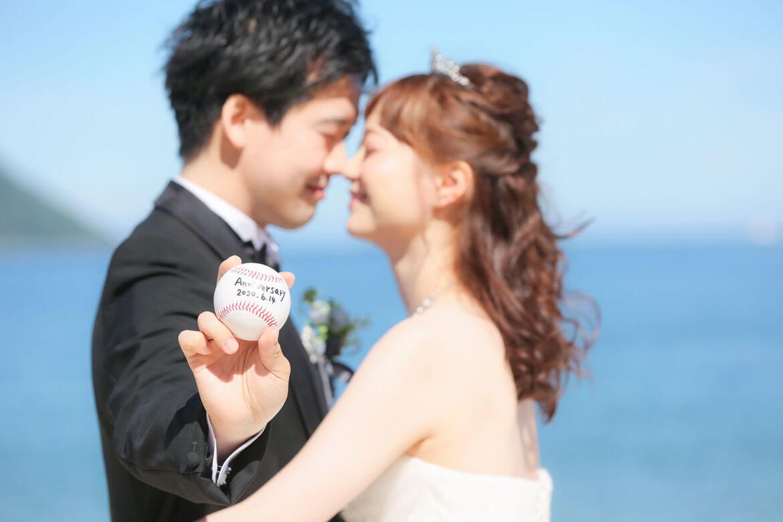 前撮り 福岡 志賀島 ウエディングドレス