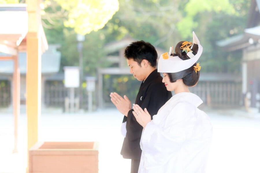 前撮り 福岡 宗像大社 和装