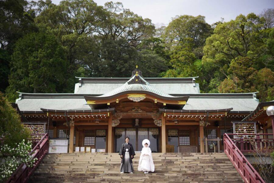 前撮り 長崎 諏訪神社