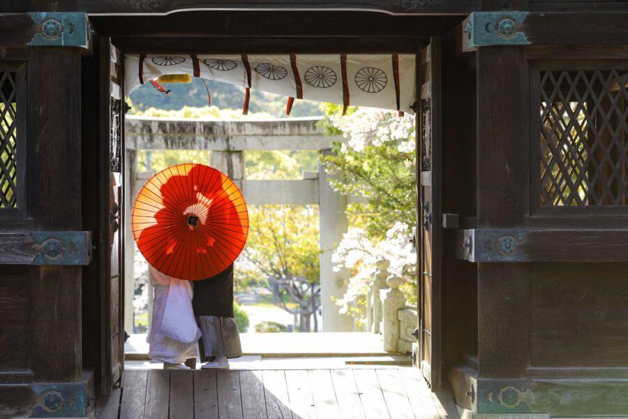 福岡 神社前撮り 香椎宮 和装